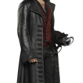 Once Upon a Time Captain Hook Black Coat