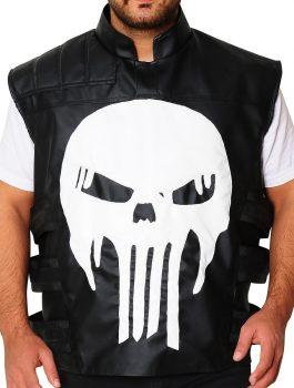 Thomas Jane Punisher Black Tactical Vest