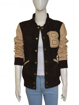 Hotline Miami Appealing Brown Leather Jacket