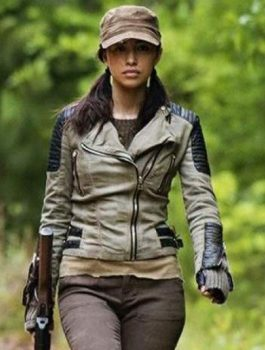 Walking Dead Christian Serratos Jacket