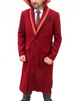 Red Doctor Strange Benedict Cumberbatch Coat