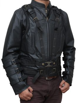 Tom Hardy Vest Jacket Detachable Sleeves