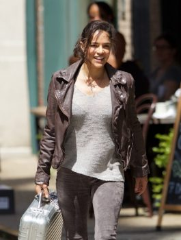 Fast 8 Movie Letty Michelle Rodriguez Jacket