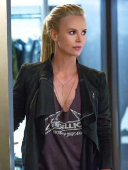 Fast And Furious 8 Villain Charlize Theron Jacket