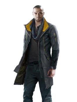 Game Detroit Become Human Markus Cosplay Coat