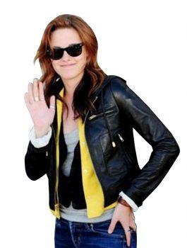 Adventureland-Premiere-Kristen-Stewart-Leather-Jacket