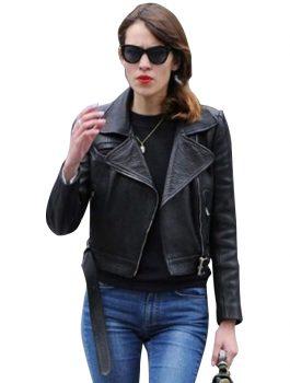 Alexa-Chung-Leather-Jacket