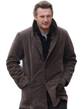 Tombstones Liam Neeson Brown Coat