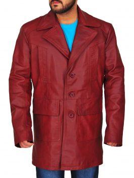 DETECTIVE JACKET , LONG COAT , RED LOVE