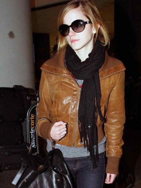 Emma Watson Brown Jacket