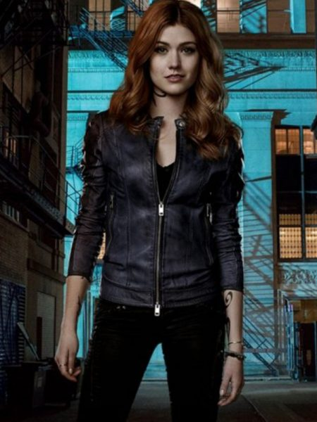 Promotional Shadowhunters 2 Katherine McNamara Jacket