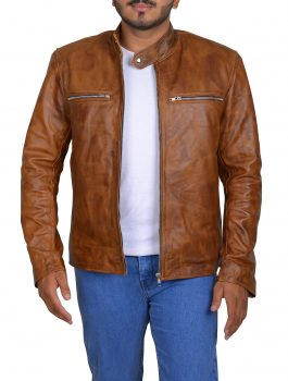 Mac MacGyver Lucas leather Jacket