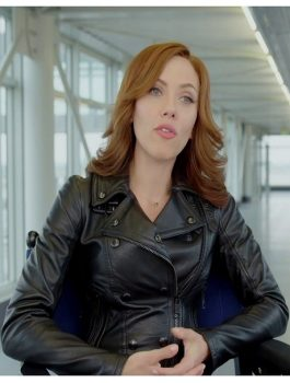 Scarlett Johansson Black Widow Jacket