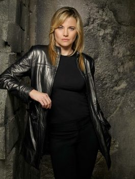Battlestar Galactica Lucy Lawless Black Jacket