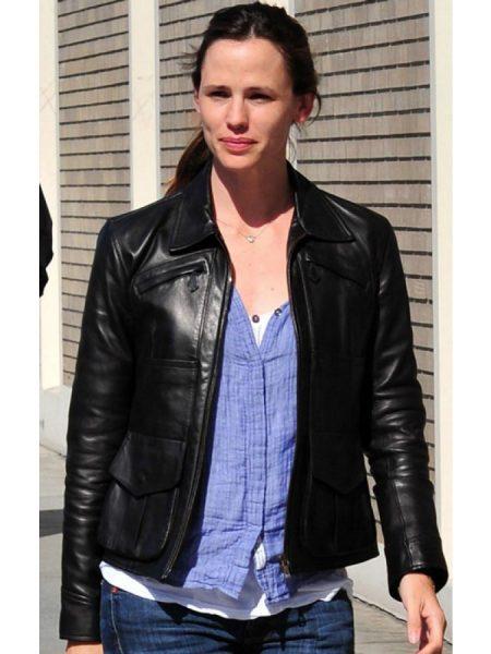 Jennifer Garner Leather Jacket