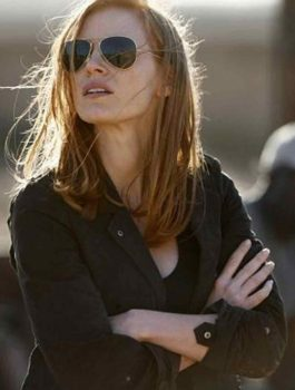 Zero Dark Thirty Jessica Chastain Jacket