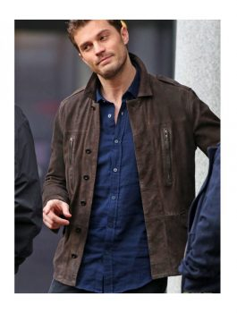 Jamie Dornan Fifty Shades Brown Jacket