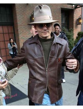 Charles Mortdecai Johnny Depp Brown Jacket