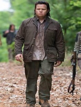 The Walking Dead Josh Mcdermitt Cotton Jacket