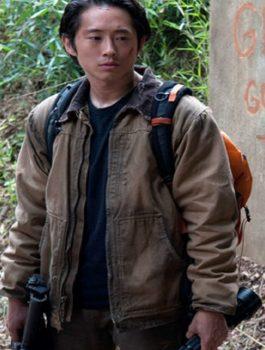 The Walking Dead Eric Stratemeier Brown Jacket