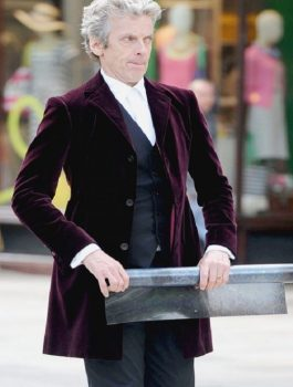 Peter Capaldi Doctor 12TH Doctor Outlook Blazer