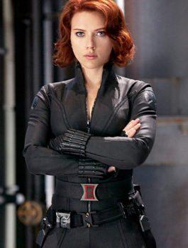 Scarlett Johansson Black Widow Avengers Jacket