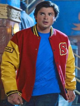 Clark Kent Smallville Crows Varsity Jacket