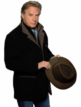 Blood And Oil Don Johnson Black Coat