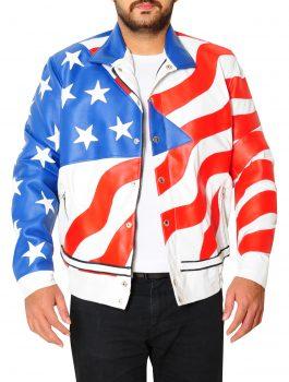 American Flag Vanilla Ice Robert Matthew Jacket
