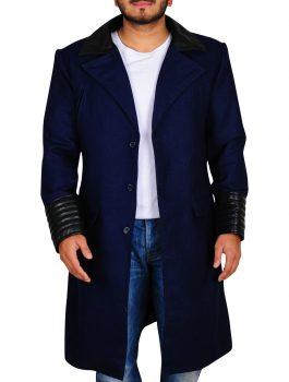 Bruce Wayne Gotham David Mazouz Wool Coat