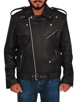 Cody Rhodes Motorcycle Black Outlook Jacket