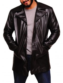 The Wire Dominic West Leather Jacket