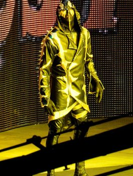 WWE Wrestler Goldust Outlook Hoodie Coat