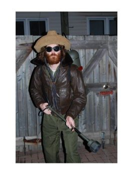 The Thing R.J. Macread Kurt Russell Leather Jacket