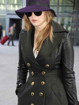 Jennifer Lawrence Designers Trench Coat