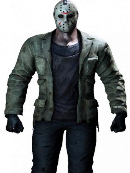 Mortal Kombat X Jason Vorhees Costume Outfit Jacket