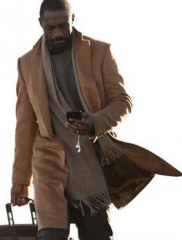 The Mountain Between Us Idris Elba Brown Coat