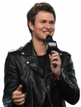 Baby Driver Ansel Elgort Motorcycle Outlook Jacket