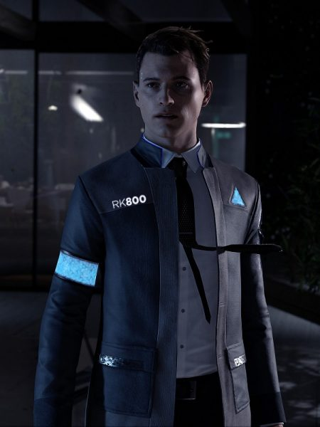 Famous Game Detroit Become Human Leather Jacket