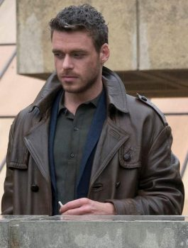 Agent Ross Electic Dreams Richard Madden Brown Coat