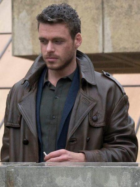 Agent Ross Electic Dreams Richard Madden Brown Coat