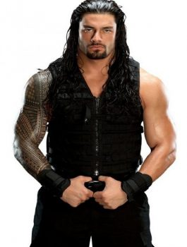 WWE Shield Roman Reigns Leather Vest