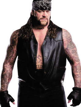 WWE The Undertaker Black Leather Vest