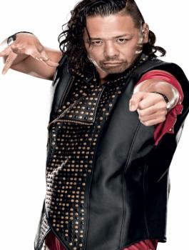 WWE Shinsuke Nakamura Black Vest