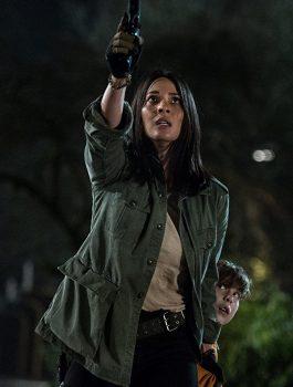 Movie The Predator Casey Bracket Olivia Munn Jacket