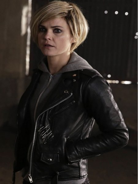 The Americans Keri Russell Elizabeth Jennings Black Jacket