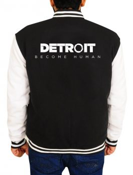 Men Detroit Become Human Varsity Jacket