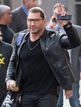 Batista Black Leather Jacket