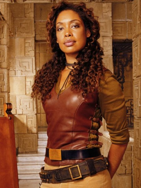 Firefly TV Series Zoe Washburne Gina Torres Leather Vest