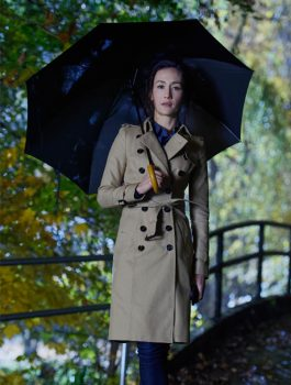 Maggie Q Designated Survivor Long Coat